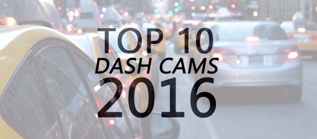 Top 10 Dash Cams 2016