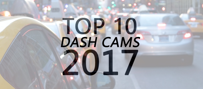 Top 10 Dash Cams of 2017-2018