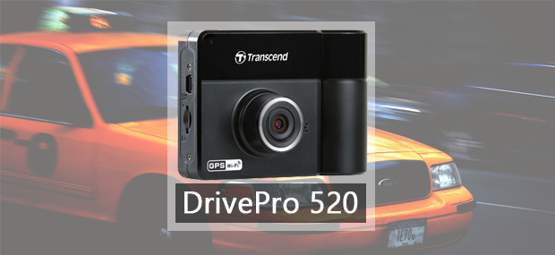 Transcend DrivePro 520 Dash Camera