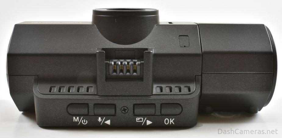 Vantrue N2S dash cam menu buttons