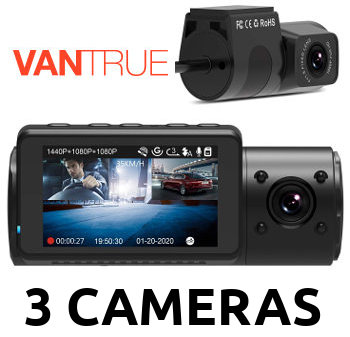 Vantrue N4 Dash Cam Review