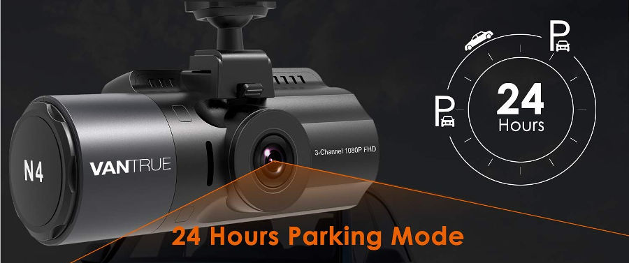 Vantrue N4 Parking Mode