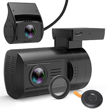 Veckle Mini 0906 Dual Dash Cam