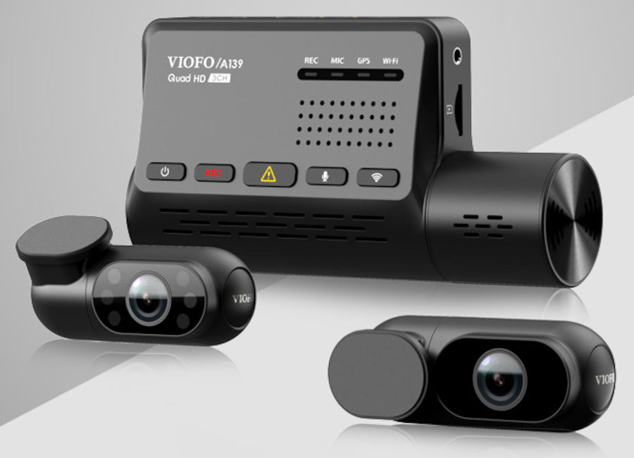 VIOFO A139 3 Channel Dash Cam Review