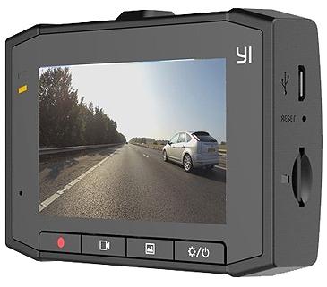 YI Ultra Dash Cam Screen