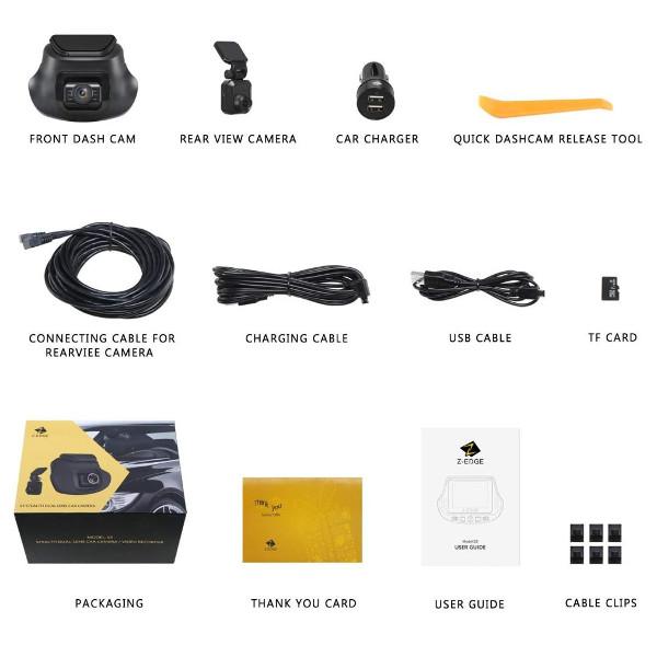 Z-Edge S3 Accessories